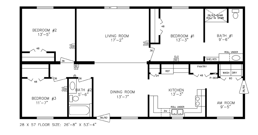 Universal Design Homes Floor Plans